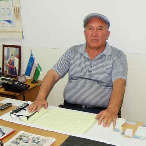 Mannonov Bahodir Ataxanovich