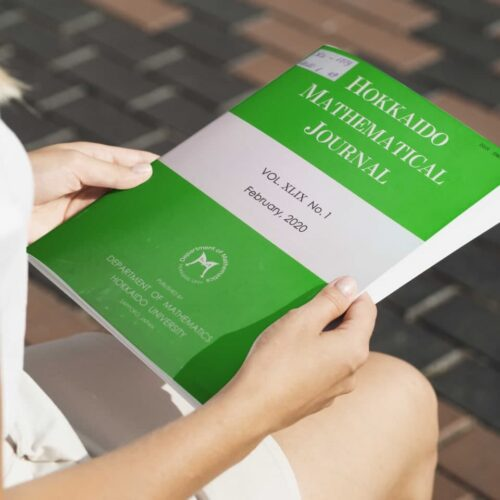 Hokkaido mathematical Journal