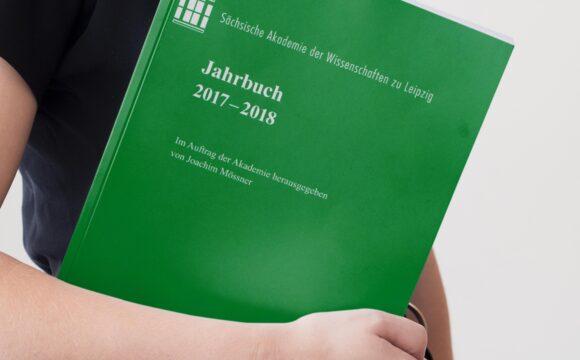 Sachsische Akademie der Wissenschaften zu Leipzig. Jahrbuch 2017-2018