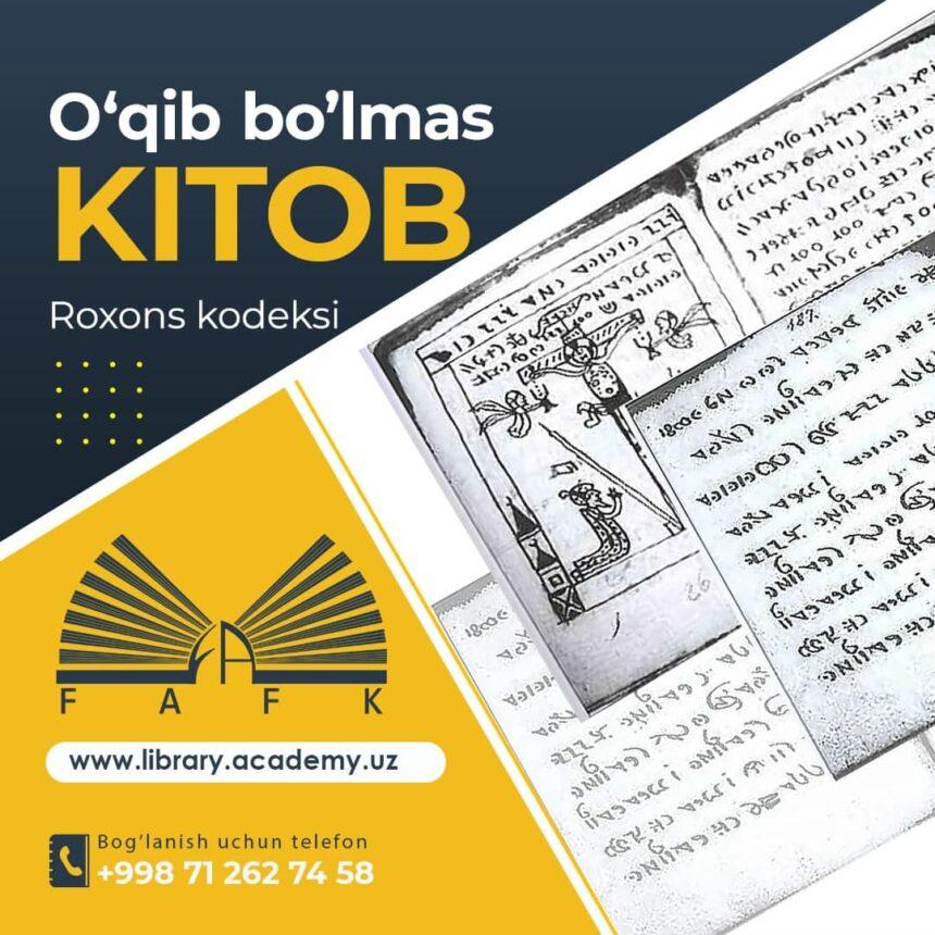 O'QIB BO'LMAS KITOB