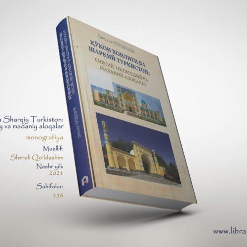 Monografiya. Sherali Qo'ldashev
